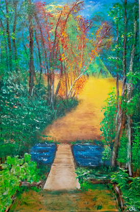 """****SOLD****Titled: """"Sanctuary"""""""