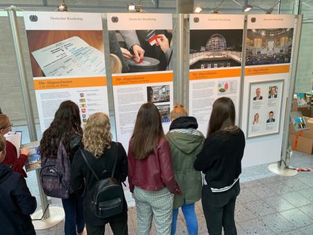 Lerngang zur Wanderausstellung des Deutschen Bundestags