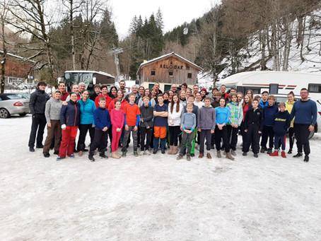 SMV Ski-Ausfahrt