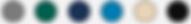 Colori della tela Coverseal