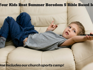 Help the Kids Beat Summer Boredom