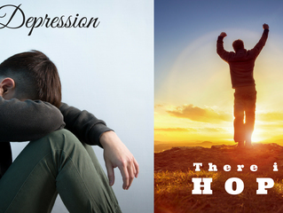There is Hope. Biblical Insights for Times of Depression