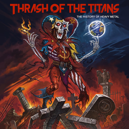 "New single, ""Thrash of the Titans"", is out"
