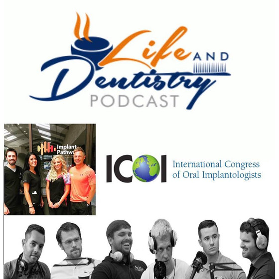 Episode #67: ICOI podcast interviews the Life and Dentistry crew!