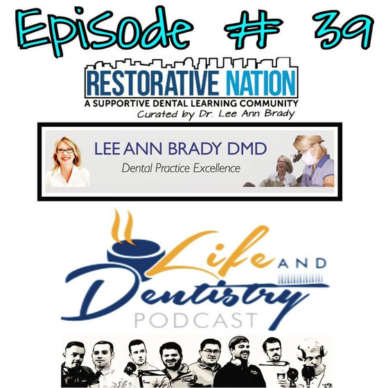Episode #39: From Success Stories to Restorative Nation Featuring Dr. Lee Ann Brady!