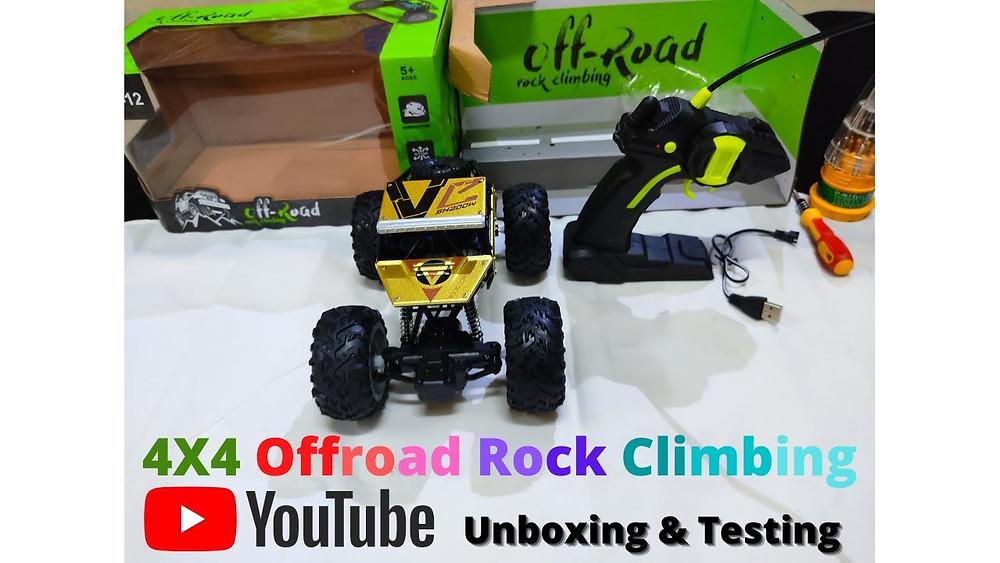 Rock Crawler Rc Car Unboxing & Testing | Best & Affordable RC Car