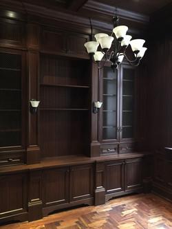 Full Library - mahogany