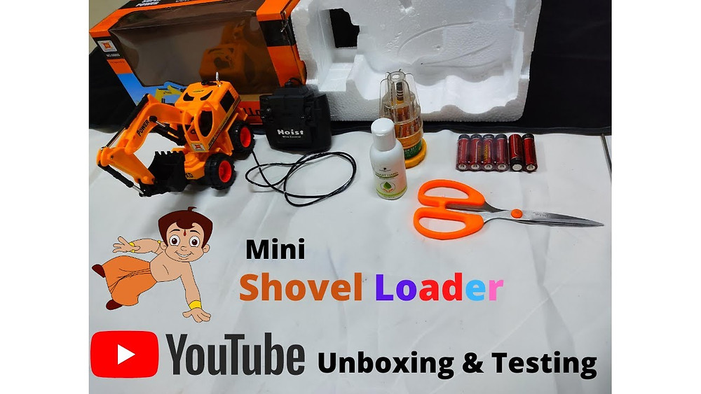 Shovel Loader Unboxing & Testing | The New Style Toy Truck @Google