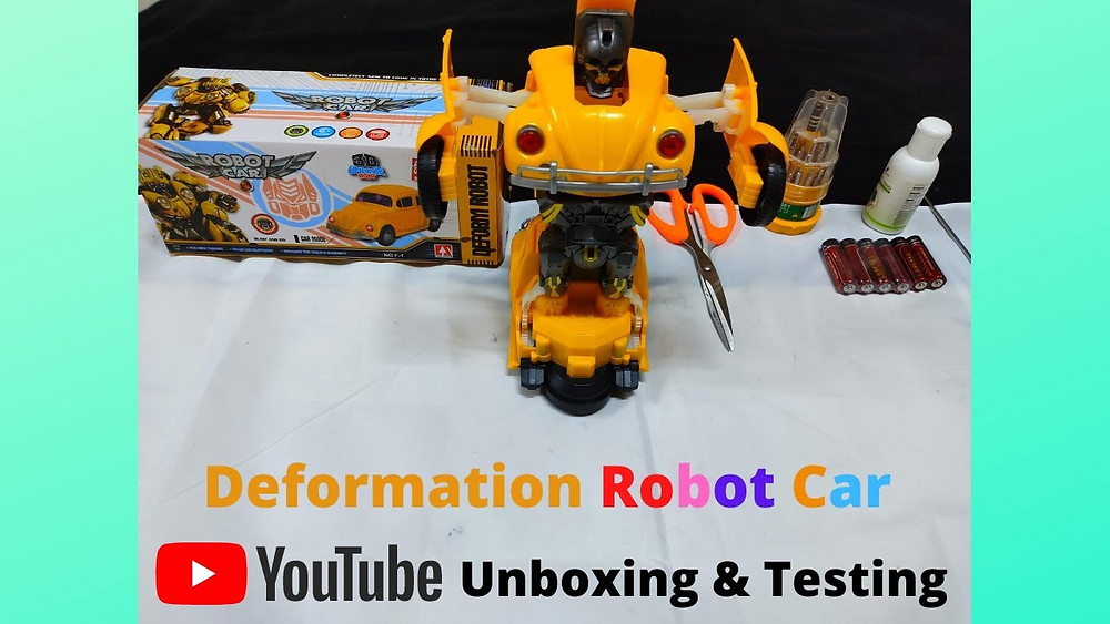 Hello Guys, Happy Krishna Janmashtami In This Video We Are Going To Unbox Deformation Robot Car These Cars Are Manufactured In Few Variants Like