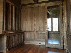Full library in oak
