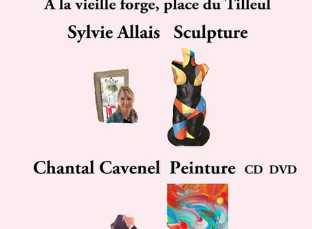 Exposition en duo au Cercle des Artistes de Saint Paul de Vence
