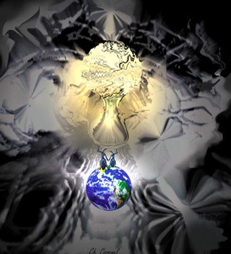 """création """"Big Bang"""" de Chantal Cavenel"""
