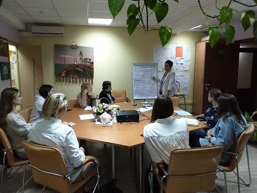 Рабочие встречи волонтеров Благотворительного проекта.