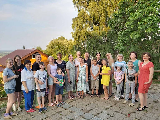 Выездной Интенсив по подготовке Группы Матерей-Волонтеров