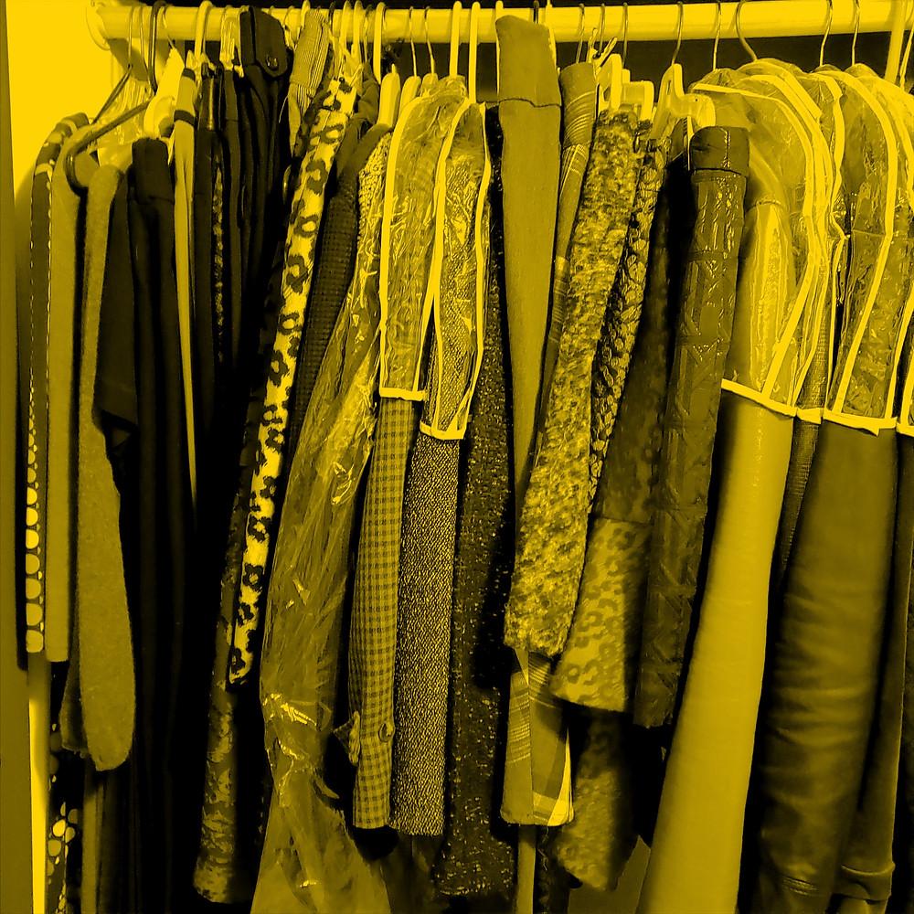 closet image with women's fashion