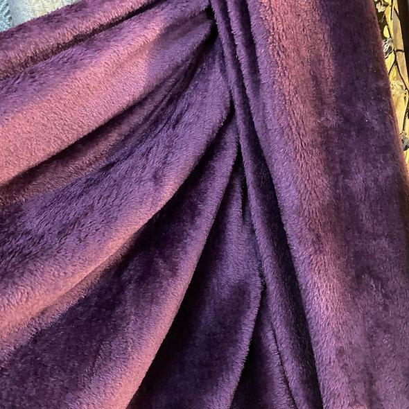 Plaid en flanelle violet