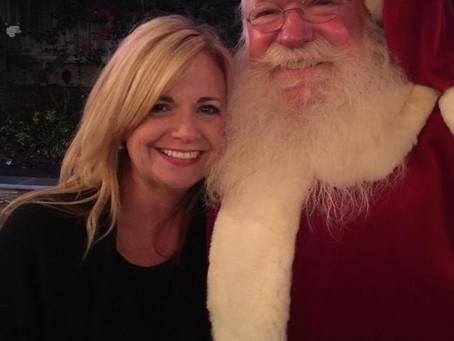 Shhh . . . Santa is my dad!