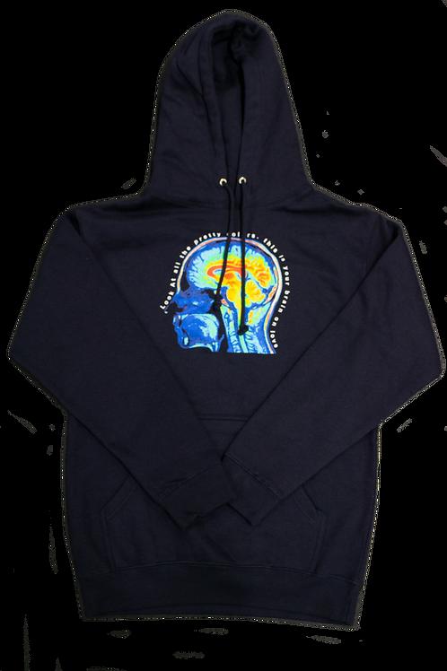 Love Brain Hoodie