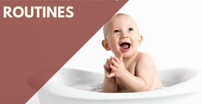 Infant Bathing Routines