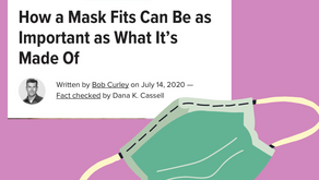 Face masks : fit and materials