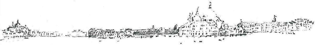croquis architecture Venise - François Cathala