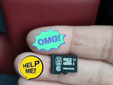 microSDカードは消耗品