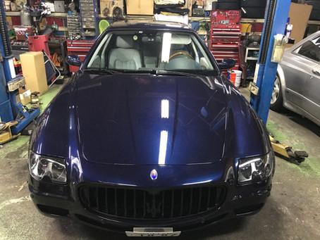 Maserati Quattroporte入庫