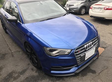 Audi S3 車検入庫&ご相談