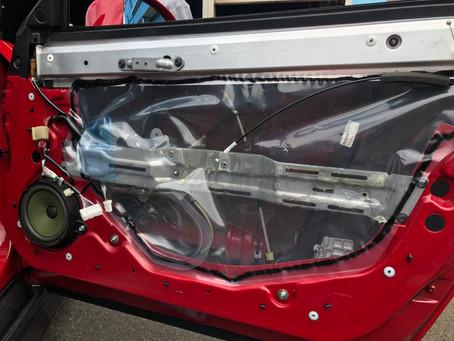 R35 GT-R フロントスピーカー交換