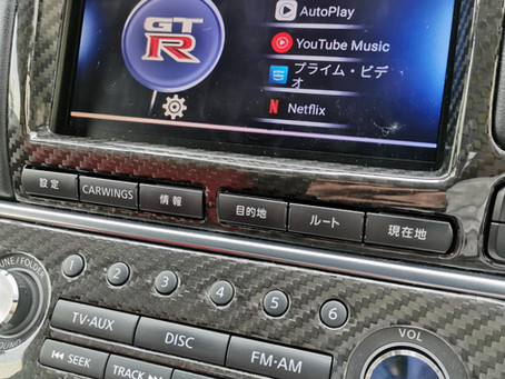 R35 GT-R Android インターフェース
