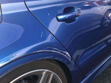 Audi S3鈑金塗装