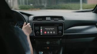 CarPlayで車内会議