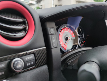 R35 GT-R エアコンアルミリング