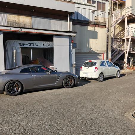 R35 GT-R MFD交換