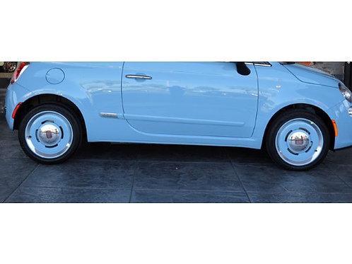 Classic Vintage Fiat 500 16インチWheel(ブルー)