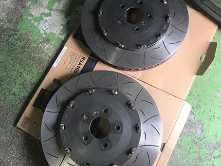 R35 GT-R ローター研磨