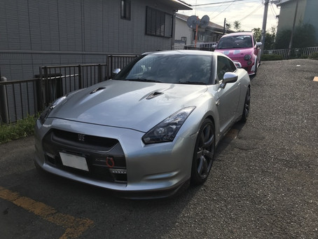 R35 GT-R 車検