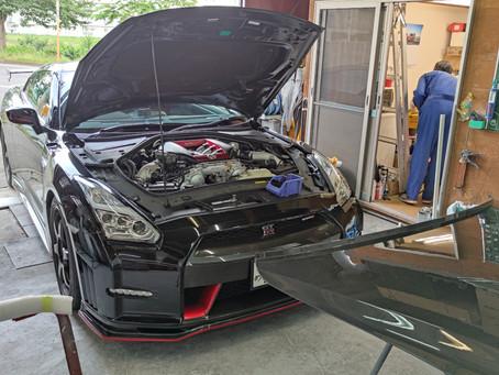 R35 GT-R NISMOドライカーボンフード②