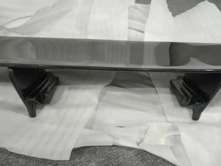 R35 GT-R カーボンパーツ検証