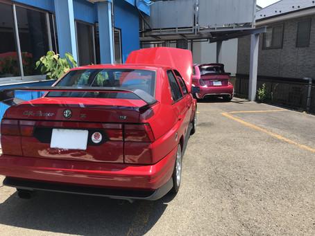 アルファロメオ 155TiZ入庫