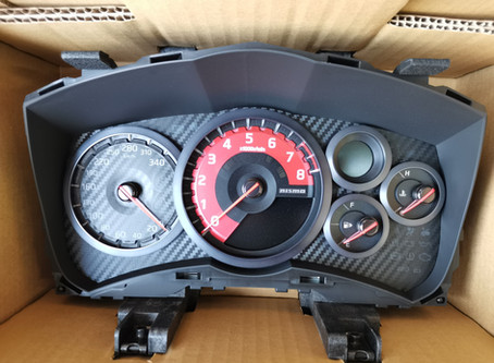 R35 GT-R MY20 NISMO スピードメーター交換