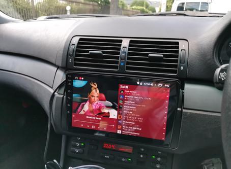 BMW 318i ツーリング androidナビ