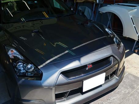 R35 GT-R 中期相当AVユニット交換