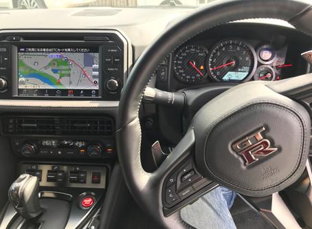 R35 GT-R カーボンパドルシフト