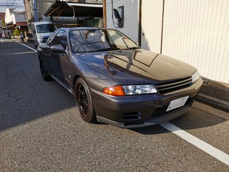 R32 GT-R R34用インタークーラー取付
