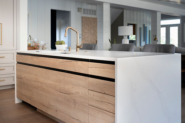 Sequenced matched cabinetry