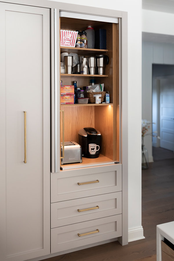 Integrated Coffee Bar