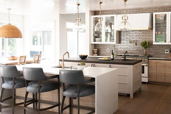 Custom Modern Rustic Kitchen