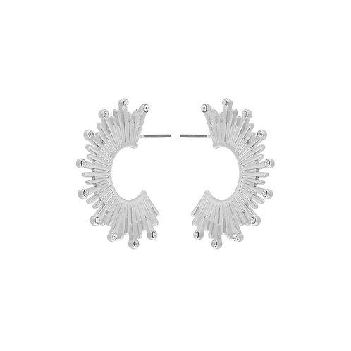 Dansk Smykkekunst Shimmer Sun Hoops