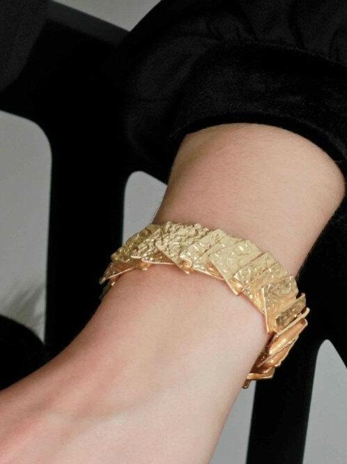 Dansk Smykkekunst Amber Construct Bracelet